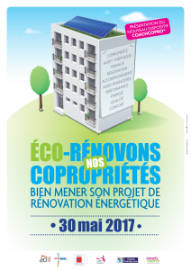 AFFICHE ECORENOVATION COPRO région